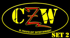 Combat Zone Wrestling CZW game set 2